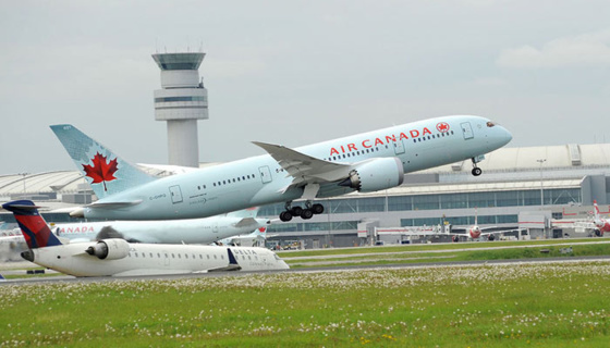 Le Canada n'abrite aucune compagnie low cost nationale © Air Canada