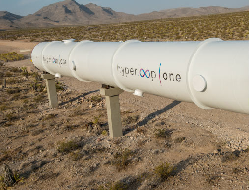 Hyperloop One a été fondée en 2014 par Brogan Bambrogan et Shervin Pishevar © Hyperloop One