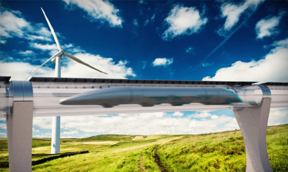 Hyperloop Transportation Technologies doit installer des locaux sur l'ancienne base aérienne de Francazal © Hyperloop Transportation Technologies