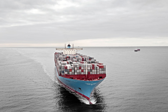 L'OMI a mandat pour conclure un accord international de réduction des émissions de GES du transport maritime © Maersk Line