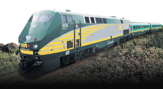© Ontario Via Rail Train