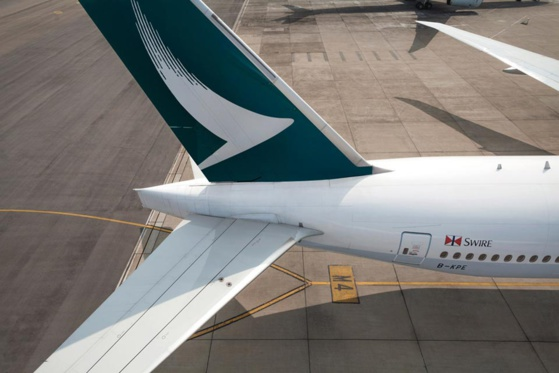Cathay Pacific a annoncé en mai la suppression de 600 postes © Cathay Pacific