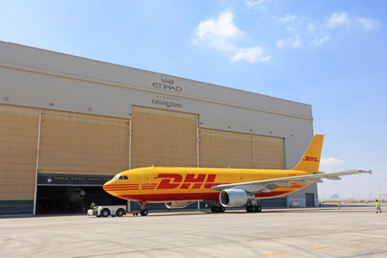 DHL pilotera l'entrepôt d'Etihad Airways Engineering à Abu Dhabi © DHL