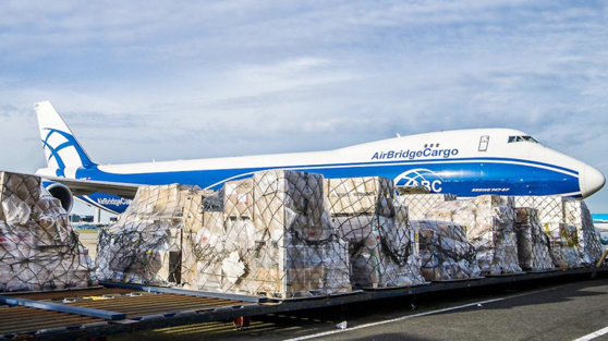 Avec Air China Cargo, Air Bridge Cargo a enrichi l'offre de Liege Airport l'an passé © ABC