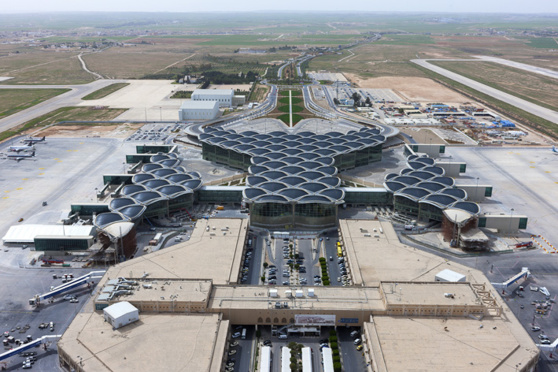 ADP a signé un contrat en vue d'acquérir le contrôle exclusif d'Airport International Group (AIG), concessionnaire de l'aéroport international Queen Alia à Amman en Jordanie © J&P