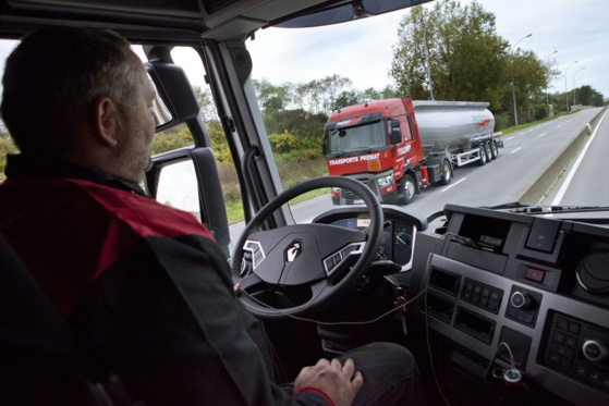 On recense 39.000 conducteurs routiers ADR en France © Premat