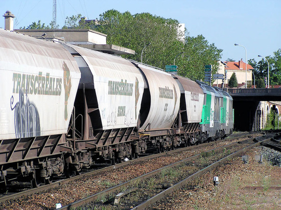 La circulation des trains de fret a baissé en 2011