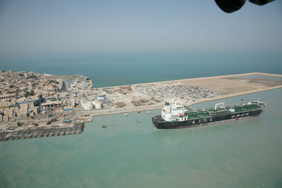 © Bushehr port & maritime authority