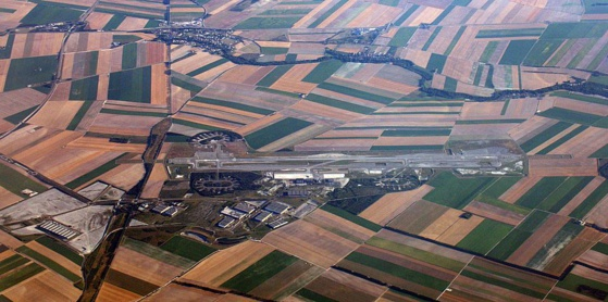 """La France reste le pays où l'on trouve le plus d'aéroports"" © Aéroport Paris Vatry"