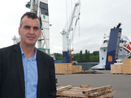 Franck Rose, directeur de BLP Normande de Manutention © GPMR