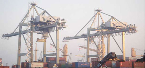 © Port of Haldia