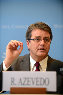 Roberto Azevedo, directeur de l'OMC © World Trade Organization