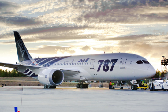 Un B787 de la compagnie japonaise All Nippon Airways © Boeing