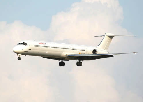 Certains experts font le parallèle avec l'accident d'un MD-82 au Venezuela en 2005 © Swiftair
