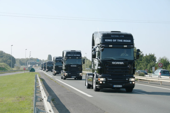 """Il faut financer les infrastructures de transport"" © Scania"
