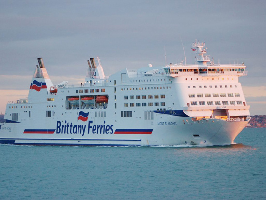 La Brittany Ferries transporte annuellement quelque 2,6 millions de passagers © Brittany Ferries