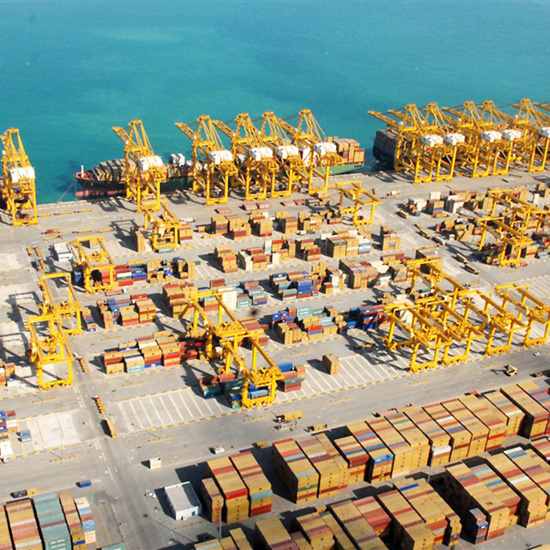 Le port de Jebel Ali traite 19 millions de conteneurs par an © DP World