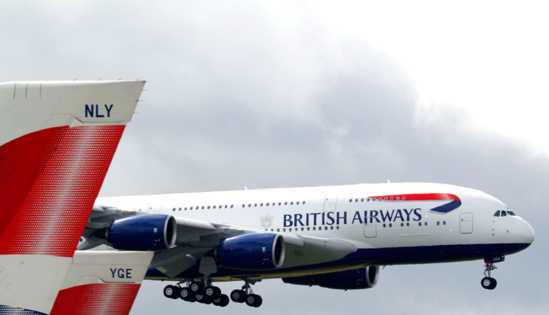 Le chiffre d'affaires d'IAG a grimpé de 12 % © British Airways