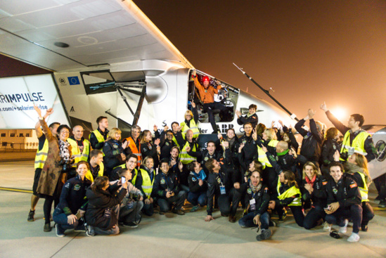 Le solar impulse pr t pour le grand saut for Pret pour le grand saut