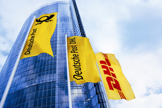 En 2014, le chiffre d'affaires du groupe Deutsche Post DHL s'élève à 56,6 milliards d'euros © Deutsche Post DHL