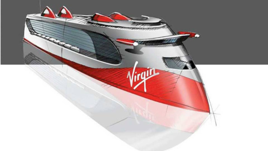 Le premier navire de Virgin Cruises larguera les amarres en 2020 © Virgin Cruises