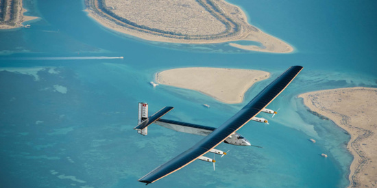 Solar Impulse a une envergure plus grande que celle d'un B747 © Solar Impulse