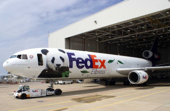 Le transport express est la plus grande division de FedEx © FedEx