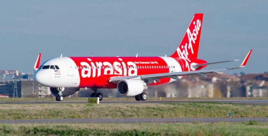 Air Asia dessert une centaine de destinations dans plus de 15 pays © Airbus P. Masclet