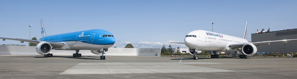 "Avec ""Trust together"", Air France-KLM vise 100 millions de passagers en 2020 © Air France-KLM"