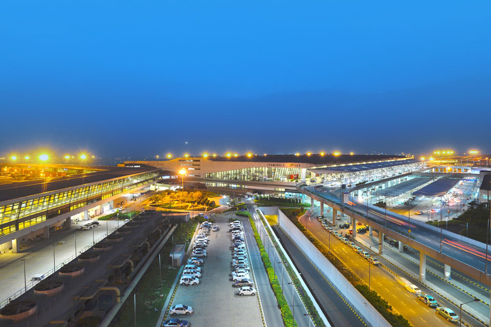 L'aéroport international Indira Gandhi reçoit à ce jour 62 millions de passagers par an © Indira Gandhi International Airport