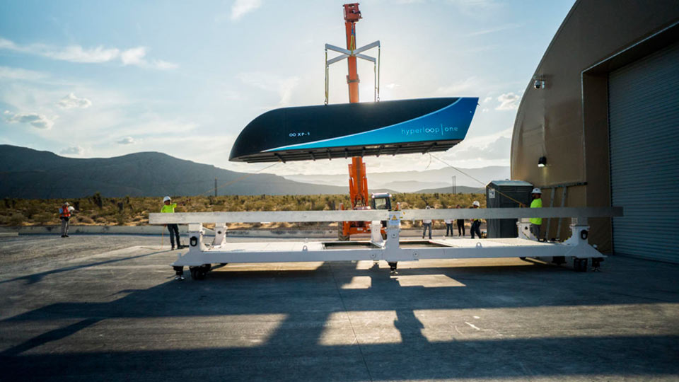 L'objectif reste la mise en service d'un Hyperloop en 2021 © Hyperloop One