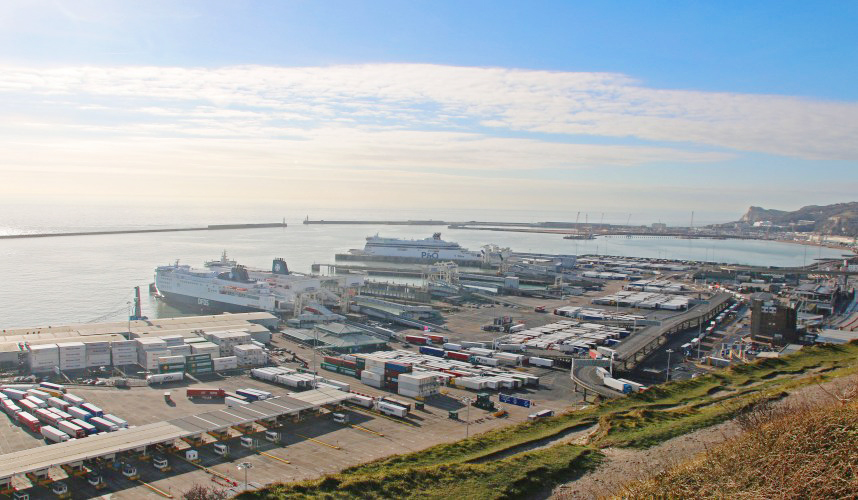 Le port de Douvres, au Royaume-Uni © Port of Dover