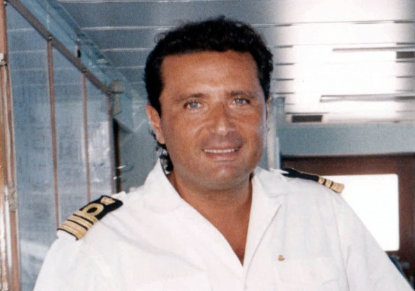 Francesco Schettino, commandant du «Costa Concordia»