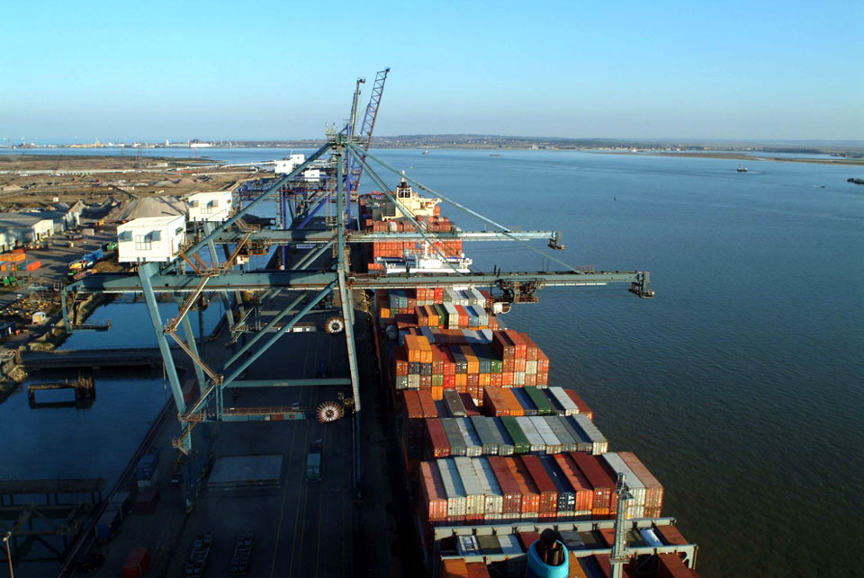 London Thamesport est membre du HPH (Hutchison Port Holdings Group) © TMS