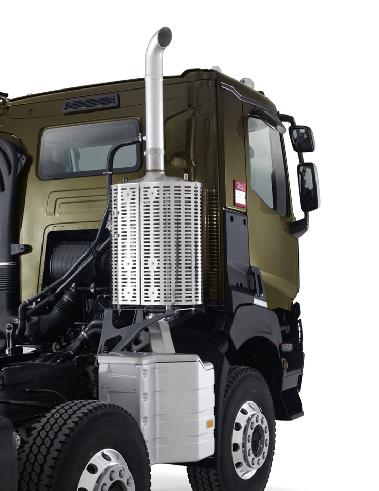 """Désorganisation des plans de transport"" © Renault Trucks"
