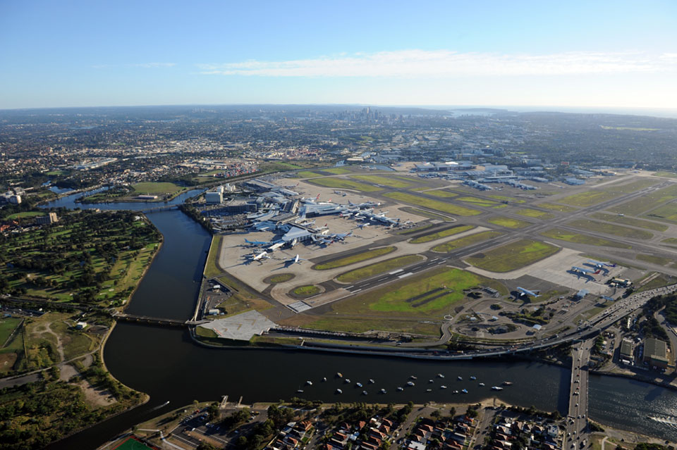 Le nouvel aéroport international sera construit à Badgerys Creek © Sydney Airport