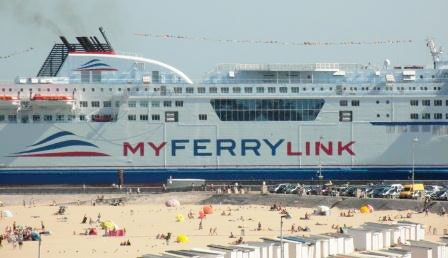Les ferries de MyFerryLink appartiennent à Eurotunnel © Port de Calais