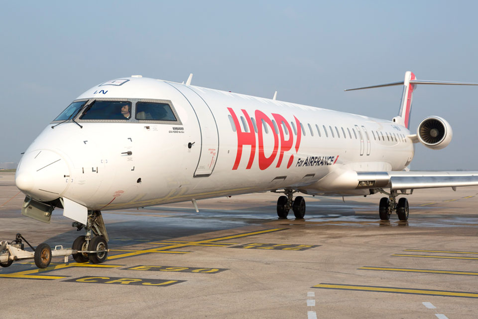 Le court et moyen-courrier d'Air France est fragilisé par la concurrence des low-cost © Hop !