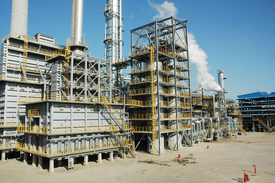 La raffinerie Wepec (West Pacific Petrochemical Company) © Wepec