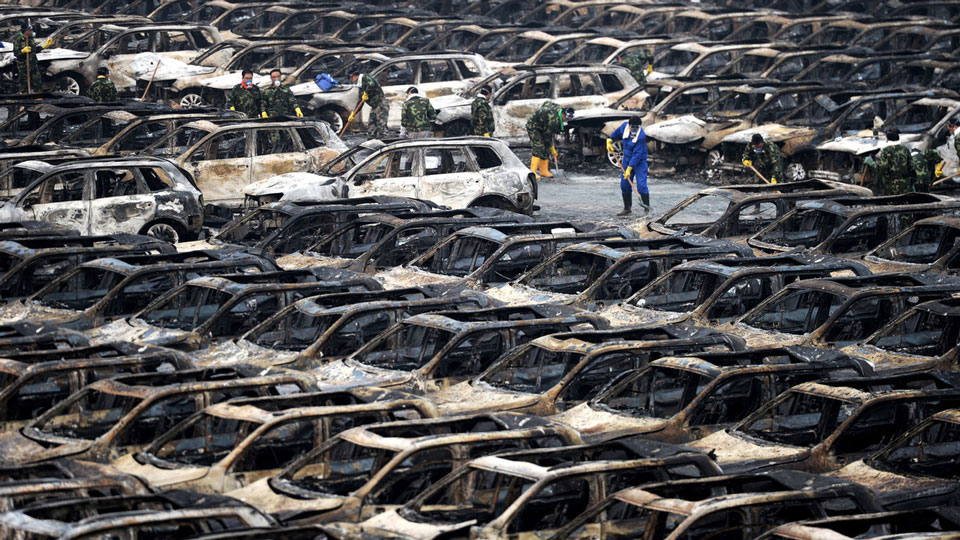 Toyota assemble chaque année 440.000 voitures à Tianjin © Bloomberg