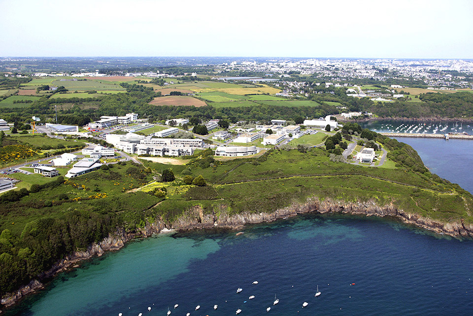 Le centre de Brest est le plus grand de France © Ifremer
