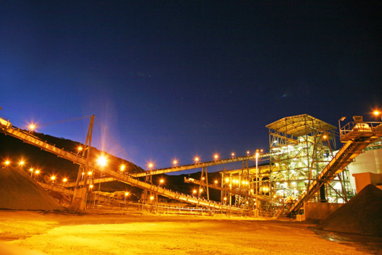 L'usine de nickel Doniambo © SLN
