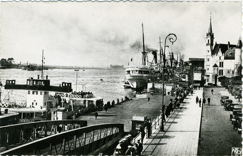 Le port d'Anvers en 1930