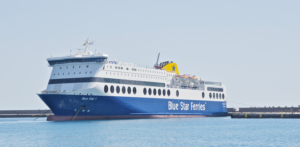 © Blue Star Ferries