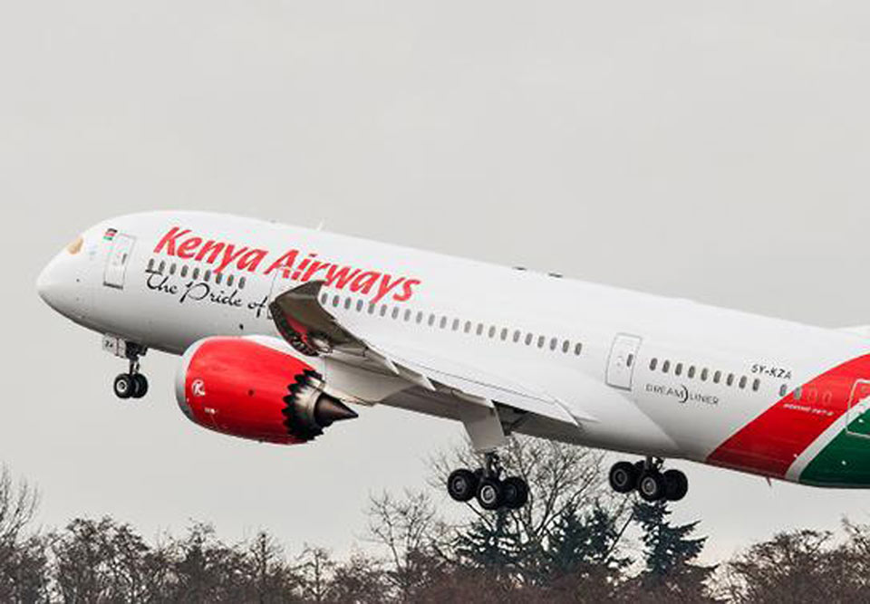 "La politique d'expansion de Kenya Airways ""a tourné à la catastrophe"" © Boeing"